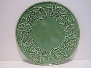 Bordello Pinheiro Green Water Lilly Chop Charger Plate Portugal Htf