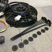 1966 - 1969 Chevrolet Chevelle 8 Dual Fans Air Cooling Fan Push Pull 12v
