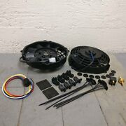 1964 - 1972 Chevelle 8 Dual Fans Air Cooling Fan Push Pull Electric 12v Slim