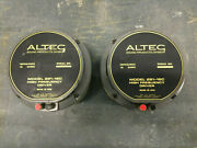 Very Rare Pair Altec 291-16c Compression High Frequency Drivers No Box