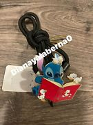 Disney Cast Member Bolo Lanyard Story Book Stitch And Ducklings Limited Release