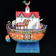 Jim Shore Noah's Ark Two By Two All Creatures Of Faith 2006 Heartwood Creek