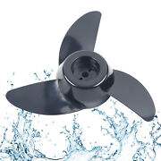 3-blades Electric Trolling Motor Prop Outboard Propeller For 28/ 36/46lb Thrust