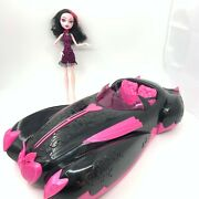 Monster High Dolls - Sweet 1600 - Draculaura Roadster Car And Doll