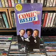 The Best Of Comic Relief '90 [cd, Like-new] Long Box Sealed