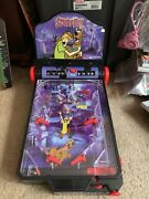 Scooby-doo Electronic Pinball Machine 2004 Rare Collectible With Box