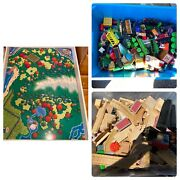 Thomas The Tank Engine Train Huge Lot Of Tracks And Vehicles, Brio Table