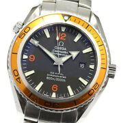 Omega Seamaster Planet Ocean Co-axial 2208.50 Automatic Menand039s Watch_576677