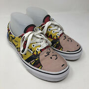 X Peanuts Charlie Brown And The Gang Mens 4.5 Shoes Snoopy Skate Sneakers