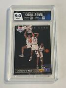 Shaquille Oand039neal 1992-93 Upper Deck Trade Card 1b - Graded Hga 9