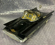 Vintage Alps Lincoln Futura Friction Tin Car Toy Japanese 1950and039s Rare Batmobile