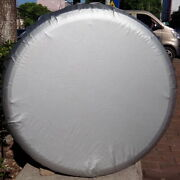 For Land Rover Jeep Suvs Car Spare Tire Tyre Cover Bag Protector 3233 Xl Silver