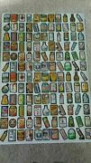 1979 Vintage Wacky Packs Packages Uncut Sheet Complete 1st Series 132 Stickers