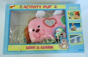 Vintage Dan Dee Love And Learn Activity Pup Crib Toy 1985 760 Open Box Very Rare