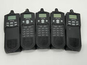Ef Johnson 5100 Portable Radio Without Antenna And Battery Lot Of 5