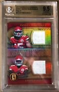 2017 Gold Standard Patrick Mahomes / Hunt 15/149 Newly Minted Duals Bgs 9.5andnbsp