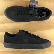 Converse One Star Pro Cons Low Top Triple Black Suede Casual Shoes 166839c Size