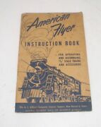 """American Flyer Instruction Book For Operating 3/16 Trains Accessories """"s"""""""