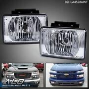 Bumper Fog Light Replacement Fit For 04-12 Chevy Colorado Gmc Canyon Pickup New