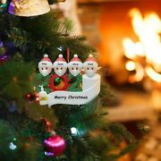 Diy Personalized Santa 2020 Christmas Ornament Hanging Ornaments Family Gifts