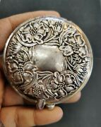 Vintage Sterling Silver Folding Hand Mirror Very Rare Mark 1928
