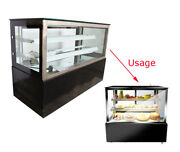 220v Bakery Pastry Bread Display Case Refrigerated Showcase 47.2 Affordable Usa