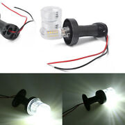 5 12v White Led Boat Anchor Light For Stern/navigation/masthead Auxiliary Lamp
