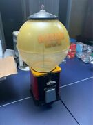 Rare Antique 1950s Gumball Machine Victor Large Capacity Top Space Theme