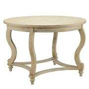 Martha Stewart Farm House Elmcrest Dining Table With Natural Finish Mt121-0090