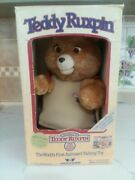 1985 Teddy Ruxpin Vintage Doll Worlds Of Wonder With Tape