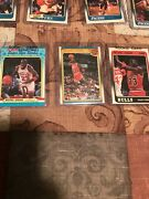 1988-89 Fleer Basketball Complete Set With Stickers Pippen And Miller Rookies Wi