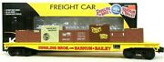 K-line By Lionel 6-21239 Ringling Bros Barnum And Bailey Circus Flat Car W/ Crates