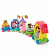 New Fisher Price Little People Disney Princess Parade 5 Vehicles + Figures Nice