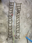 Set Of Used Unbranded Vintage Tire Chains-selling For Parts Or As Antique Item