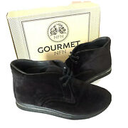 Gourmet Otto Nfn Black Velvet Shoes Size 11 Hard To Find Men's Sports