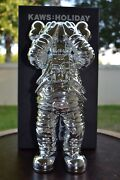 Kaws Holiday Space Figure Silver 11.5