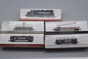 Set Of 5 Southern Pacific Train Cars - Nos, Boxes, By High Speed Metal Products
