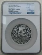 Ngc Pf70 Great Britain Uk 2021 The 95 Birth Of Her Majesty Queen Silver Coin 5oz