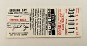 1984 Detroit Tigers Opening Day Ticket Stub - Tiger Stadium World Series Champs