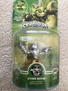 Skylanders Swap Force Chase Variant Silver/gold Stink Bomb Rare New Free Shiping