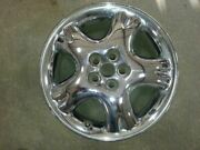 Wheel Aluminum 16x6 5 Spoke With Dimples Chrome Fits 01-02 Pt Cruiser 1029398