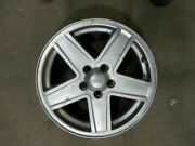 Wheel 17x6-1/2 Alloy 5 Spoke Silver Painted Spokes Fits 07-10 Compass 1023226