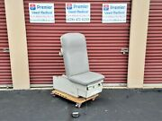 Ritter 222 Power Base And Manual Back W New Graphite Upholstery