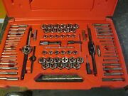Snap-on Usa 76 Piece Tap And Die Set Tdtdm500a Complete Nr