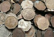 Republic India - 2 Paise - Nickle And Brass Coins - 50 Pieces Lot - 1957 To 1964
