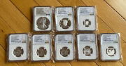 2016 Ngc Proof 70 Limited Edition Proof Set 30th Anniversary Brown Labels