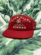 Vintage Motorcycle Club Trucker Hat Snapback Cycle Alley Riders 50s 60s 70s Rare