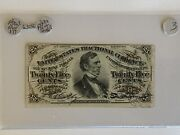 Fractional Currency Fr-1294 25c Green Back Crisp About New On Sale 03