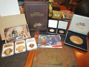 Abraham Lincoln Coin And Chronicle Set And More