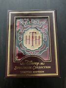 Disney Storybook Collection Tower Of Terror Jumbo Stained Glass Pin Le 750 Rare